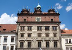 Plzen, Τσεχία Στοκ φωτογραφία με δικαίωμα ελεύθερης χρήσης