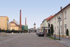 Plzen brewery Royalty Free Stock Photography