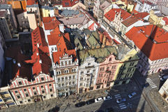 Plzen town, Czech Republic Royalty Free Stock Photos