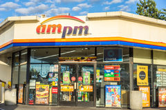 AM PM Convenience Store Royalty Free Stock Images