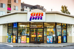 AM PM Convenience Store Stock Photography