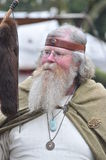 PM de At do curandeiro (Phantasie medieval Spectaculum) Saeckingen mau 2013 fotografia de stock royalty free