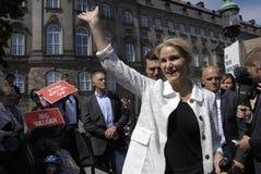 PM & MINISTRO PER LA CONFERENZA STAMPA DEL GIUNTO DI FINANC E Immagini Stock Libere da Diritti
