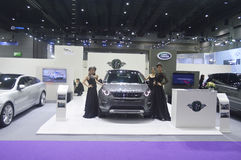 Pm motor car at Bangkok International Grand Motor Sale 2015 Royalty Free Stock Images