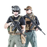 PMC in action Stock Image