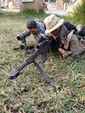 Pmc prickskyttTheam militär models12 Fotografering för Bildbyråer
