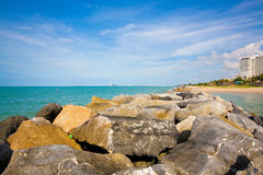 PMY Strand Rayong Stock Foto's