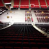 PNC Arena. Empty PNC arena in Raleigh N.C Royalty Free Stock Image