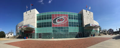 PNC-arena, Raleigh, North Carolina fotografering för bildbyråer