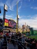 PNC-Park-Anzeigetafel lizenzfreie stockbilder