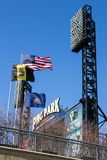 PNC Park Flags Royalty Free Stock Image