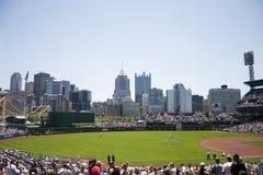 PNC Park, Pittsburgh. Pittsburgh, Pennsylvania`s Pirates baseball stadium stock photography