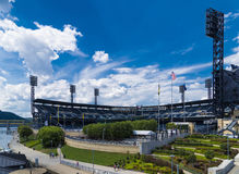 PNC parkerar Pittsburgh Royaltyfri Bild