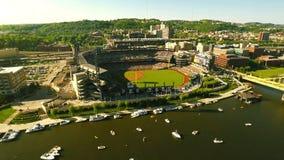 PNC parkerar stadion arkivfilmer