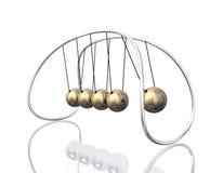 Pêndulo 3D Fotografia de Stock Royalty Free