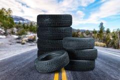 pneu foto de stock
