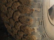 Pneu d'entraînement à quatre roues Photo libre de droits