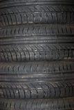 pneu de fin de véhicule de fond vers le haut Images stock