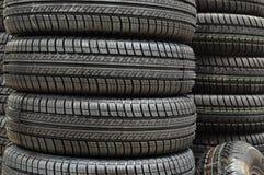 Pneu de pneus de voiture Image libre de droits