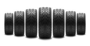 Pneu de voiture photographie stock libre de droits