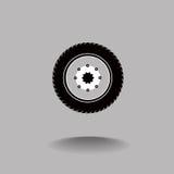 Pneu et roue Photos libres de droits