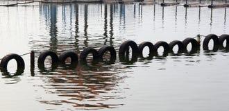 Pneu na água Imagem de Stock Royalty Free