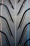 pneu noir d'été de fond Photo libre de droits