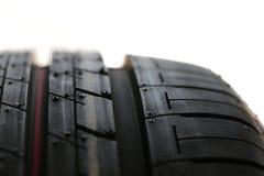 Pneumático novo do carro (pneu) Foto de Stock Royalty Free