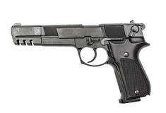 Pneumatic air pistol calibre 4,5mm Stock Photography