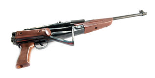 Pneumatic air rifle Stock Image
