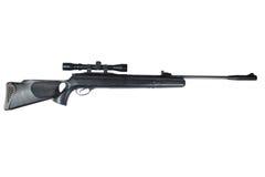 Pneumatic air rifle Royalty Free Stock Photos