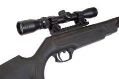 Pneumatic air rifle Royalty Free Stock Image
