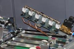 CNC machine detail stock images
