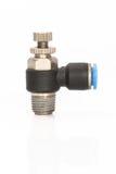 Pneumatic control valve Stock Photos