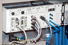 Pneumatic and electromechanical systems Stock Photos