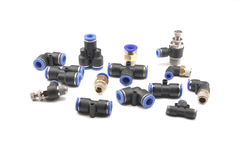 Pneumatic fitting Royalty Free Stock Photography