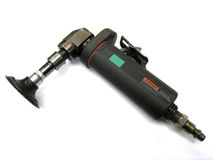 Pneumatic grinder stock photography