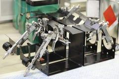 Pneumatic guns Stock Image