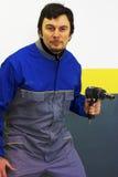 Pneumatic Gunslinger Royalty Free Stock Photo