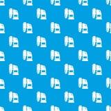 Pneumatic hammer machine pattern seamless blue Stock Image