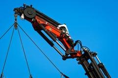 Pneumatic industrial crane Stock Images