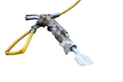Pneumatic jack hammer Royalty Free Stock Photography