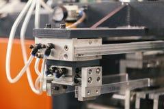 Pneumatic machine detail. Close up royalty free stock photos