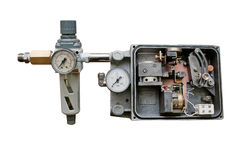 Pneumatic mechanism. Royalty Free Stock Photography