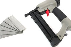 Pneumatic Nail Gun Royalty Free Stock Images
