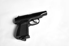 Pneumatic pistol Royalty Free Stock Images