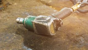 Pneumatic impact wrench Royalty Free Stock Images