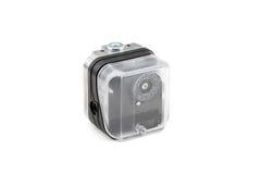 Pneumatic timer valve Stock Image