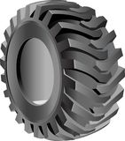 Pneumatic tire. Stock Photo