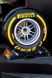 Pneumatic tires Pirelli Stock Image